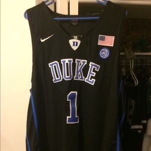 Duke Zion Williamson Basketball Jersey size XL